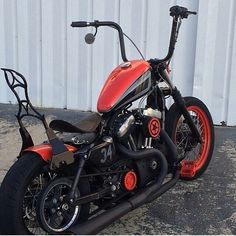 Customized Harley Sportster