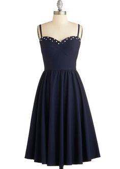 Stop Staring! The Neyla Dress in Bleu $133