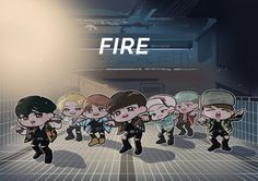 BTS - Fire MV