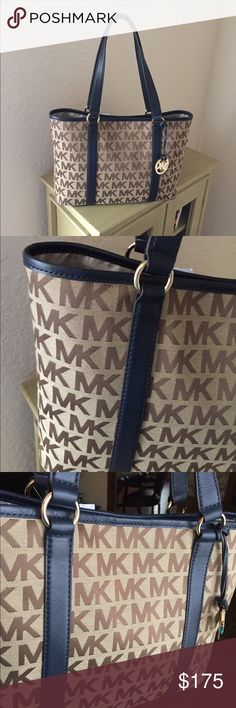 Gorgeous Large Michael Kors Tote Brand new large Micheal Kors Tote. Still has tags. Never used. Perfect condition. No flaws. Serial # 35H1GSUT3J - gorgeous bag. TV 350 Michael Kors Bags Totes
