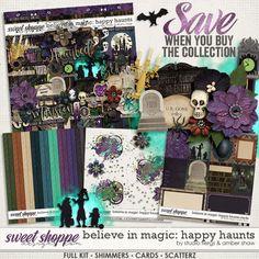 Happy Haunts: Collection by Amber Shaw & Studio Flergs