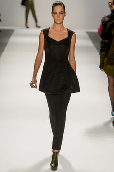 Like this top.  Nanette Lepore Fall 2013 RTW.
