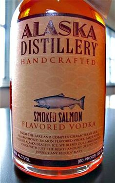 I can buy this. It sounds absolutely terrible. - 10 of the Weirdest and Grossest Vodka Flavors Ever - Neatorama