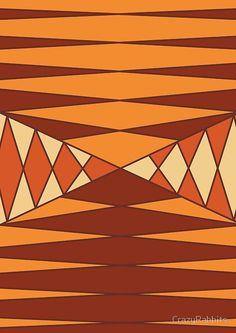 'Colorful asymmetrical texture, pattern, geometric' Spiral Notebook by CrazyRabbits Framed Prints, Canvas Prints, Art Prints, Types Of Balance, Asymmetrical Balance, Reflection Art, Balance Board, 2d Design, Pattern Art