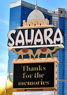 The Sahara • Las Vegas, Nevada