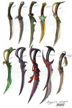 All Skyrim daggers