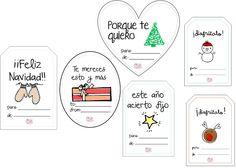 Diseña tus propias etiquetas con Power Point + etiquetas navideñas para descargar gratis | Creative Mindly