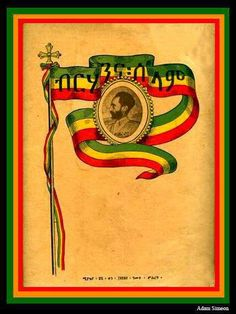 shared a photo from Flipboard Rasta Art, Rasta Lion, Rastafari Art, History Of Ethiopia, Rastafarian Culture, Ethiopian Beauty, Reggae Bob Marley, Haile Selassie, Cross Art