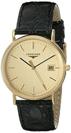 Men's Wrist Watches - Longines Mens Presence Collection Watch >>> To view further for this item, visit the image link. Longines Watch Men, Longines Hydroconquest, Mens Designer Watches, Luxury Watches For Men, Fine Watches, Cool Watches, Wrist Watches, Tag Heuer, Rolex