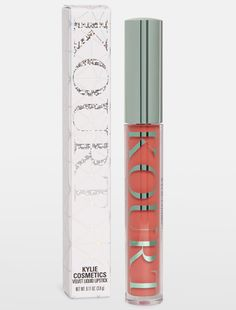Minnie Velvet Liquid Lipstick from the KOURT X KYLIE collection, the new collaboration from Kourtney Kardashian and Kylie Jenner for Kylie Cosmetics. Minnie is a warm deep pink. Contains: 1 Velvet Lipstick oz. Velvet Lipstick, Dark Lipstick, Lipstick Colors, Liquid Lipstick, Lip Colors, Bright Lipstick, Neon Lipstick, Kylie Lipstick, Kylie Collection