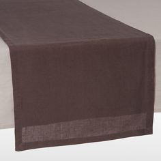 Runner da tavolo color talpa L 150 cm ANICIENNE