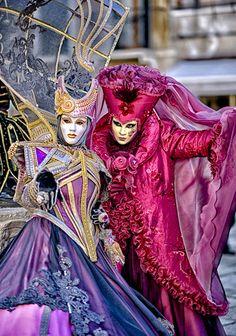 Carnaval en Venecia. Italia