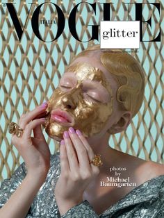 vogue-is-viral:  Louise Parker in 'Glitter' by Michael Baumgarten for Vogue Italia November 2014