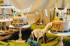 Rustic Dinosaur Birthday Party     Kara's Party Ideas