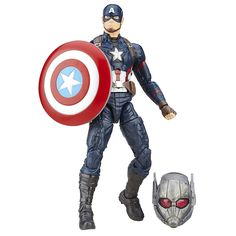 Amazon.com: Marvel 6-Inch Legends Series Captain America Figure: Toys & Games
