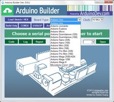 Arduino Builder - Step 1