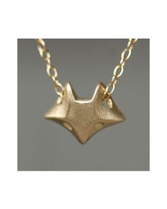 The Fox Necklace by JewelMint.com, $50.00