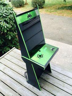 Bartop Arcade Machine Mame 1 Player Diy Flat Pack Kit