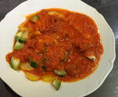Recette Poulet courgettes, sauce chorizo par martinepg36 - recette de la catégorie Plat principal - divers