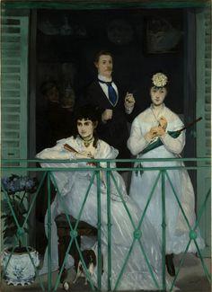 https://flic.kr/p/pmAdY7 | The Balcony | 1868-1869. Oil on canvas. 170 x 124,5 cm. Musée d'Orsay, Paris. RF 2772.