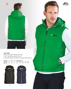 Slazenger evolution padded bodywarmer - Sleeveless Jacket with Hood