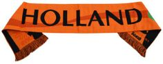 2014 World Cup Netherlands Holland Fans Football Jacquard Scarf - Multicolour One Size Netherlands Holland
