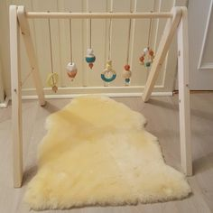 DIY baby gym. Made by me and my husband.