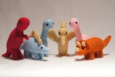 Crocheting: Crochet Pterodactyl Dinosaur