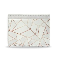 For the minimalist. A stylish and modern way to hold those important cards & money. This chic slim style travel credit card holder is crafted from 100% vegan leather.