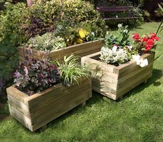 Large Wooden Corner Planters (942×819)