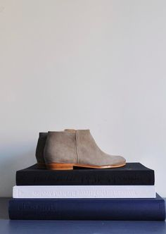 Love these flat booties for spring