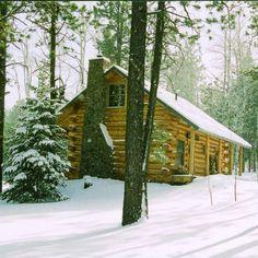 Log cabin in Greer, Arizona