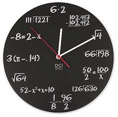 Math Clock - I have this!
