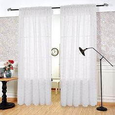 Deconovo Window Curtains White Sheer Curtains Golden Rhom... https://www.amazon.com/dp/B01MTKPKDZ/ref=cm_sw_r_pi_dp_x_fdjhAbHEAXTW7