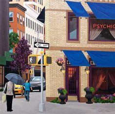 Psychic, NYC by Laura Kaardal