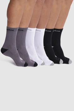 c8efa4646da6 Mens Champion Socks Six Pack - Black