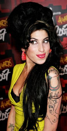 The beehive was made famous by Amy Winehouse