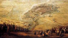 La victoria española frente a los suecos en Nördlingen (1634) parecía anunciar una triunfo definitivo de los Habsburgo en Alemania, lo que motivo la inmediata intervención de Francia, que declaró la guerra a España (1635) . Hermano de Felipe IV, estuvo a las puertas de París (1636) , pero se retiró. Francia tomó entonces la iniciativa y, en 1638 - 1639, los ejércitos franceses ocuparon el Rosellón, mientras que la escuadra holandesa derrotaba a la española en las dunas (1639).