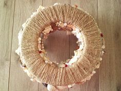 Jute base... we have the seashore coming to life during all seasons... this is the base of one of our Autumn Custom Centerpieces www.etsy.com/shop/SouthernCharmSeaside Seashell Centerpieces, Jute, Sea Shells, Crochet Earrings, Autumn, Seasons, Shop, Beautiful, Etsy