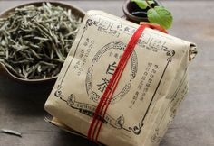 傳統典雅的暁飲白茶包裝   MyDesy 淘靈感