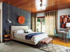 Jonathan Adler and Simon Doonan's A-Frame Cabin on Shelter Island Photos | Architectural Digest