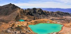 Tongariro Alpine Crossing Walk - A challenging walk that times in views of the volcanic landscape.