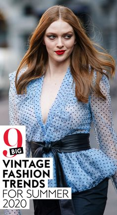 Ahead, I've rounded up nine vintage-meets-current fashion trends that you might want to check out, too.  Everything from playful prints, to mom shorts, to voluminous details is making a comeback this Summer.  #style #ootd #fashion #summer2020trends #fashiontrends 80s Fashion, Fashion Brand, Boho Fashion, Fashion Show, Vintage Fashion, Fashion Design, Current Fashion Trends, Summer Fashion Trends, Winter Fashion