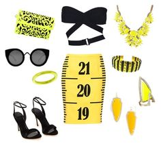 """""""Hallowen costume"""" by littlemely28 ❤ liked on Polyvore featuring Moschino, Alaïa, Alexis Bittar, Kendra Scott, Chopard and Quay"""