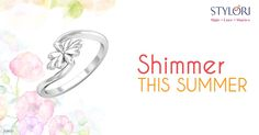 Every petal was her trampoline, she jumped from one petal to another.   http://www.stylori.com/jewellery/rings/platinum/Derceto  #Stylori #Love #Stories #OneLineStories