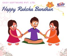 A Hindu festival that celebrates the bond between a brother and sister Happy Rakshabandhan, Hindu Festivals, A Brother, Raksha Bandhan, Bond, Software, Celebrities, Easy, Celebs