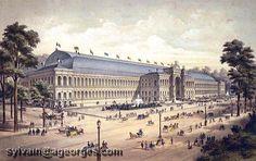 palais de l'industrie 1855
