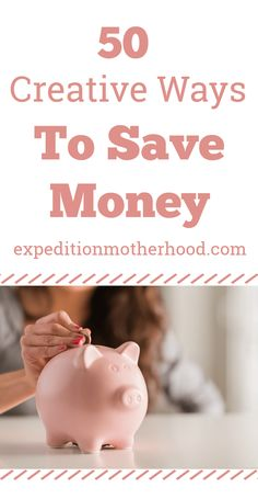 50 ways to save money without going crazy