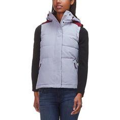 Columbia - Winter Challenger Hooded Vest - Women s - Astral Rich Wine  Hooded Vest d1fe5c140