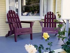 Great color for a cottage porch >> http://www.hgtvremodels.com/outdoors/solving-common-porch-problems/index.html